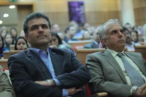 دکتر معسعود غلامپور راد و داود موسایی ـ عکس از جواد آتشباری