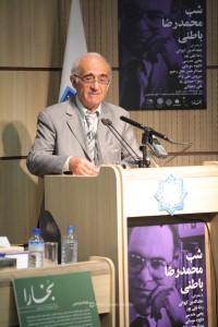 دکتر رضا نیلی پور ـ عکس از جواد آتشباری