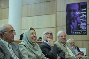 ژاله آموزگارـ ضیاء موحد و ایرج پارسی نژاد ـ عکس از جواد آتشباری
