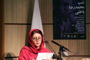 زهرا احمدنیا ـ عکس از مجتبی سالک