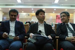 دکتر مسعود غللامپور، دکتر کندو و ناکاگاکی ـ عکس از مجتبی سالک