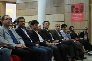 صحنه ای از مراسم شب ایران و ژاپن , عکس از مجتبی سالک