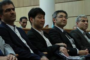 صحنه ای دیگر از مراسم شب ایران و ژاپن
