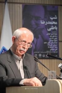 دکتر یحیی مدرسی ـ عکس از جواد آتشباری