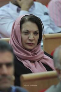 شهین نفر، همسر دکتر محمدرضا باطنی ـ عکس از جواد آتشباری