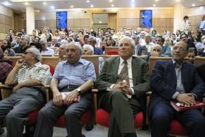 صحنه ای از بزرگداشت دکتر پرویز ناتل خانلری ـ عکس از سمیه لطفی