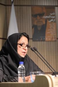 مهناز گرجی ـ مدیر موزه ملی ایران ـ عکس از جواد آتشباری