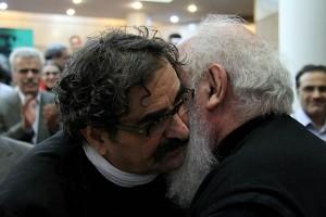 شهرام ناظری و سایه ـ عکس از مجتبی سالک