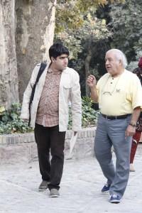 بهزاد فراهانی و جواد آتشباری ـ عکس از ژاله ستار