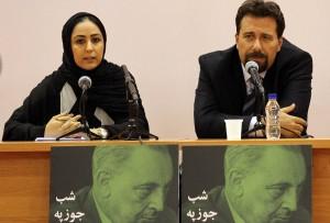 دکتر کارلو چرتی و حاینه اینانلو ـ عکس از محمدرضا مسگری