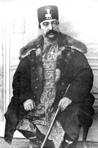 ناصرالدین شاه  در شصت سالگی
