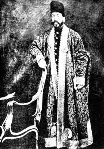 میرزا حسین خان سپهسالار ( عکس از روی نقاشی کمال الملک)