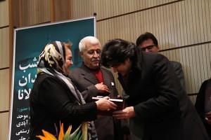 سالار عقیلی و خانم اسین چلبی ـ عکس از مجتبی سالک