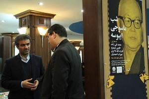 محمدرضا سروش و مسعود غلامپور ـ عکس از مجتبی سالک
