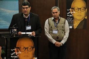 دکتر محمدرضا سروش و محمد رضا تقی پور ـ عکس از مجتبی سالک