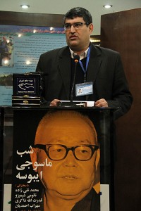 دکتر محمرضا سروش ـ عکس از مجتبی سالک