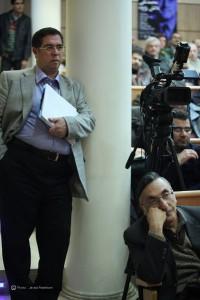 شب محمد تقی دانش پژوه ـ عکس از جواد آتشباری