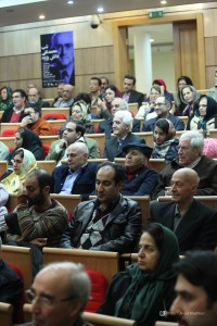 صجنه ای از شب محمد تقی دانش پژوه ـ عکس از جواد آتشباری