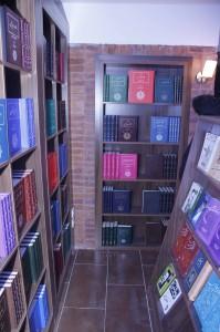 نمایی دیگر از کتابفروشی آینده ـ عکس از ژاله ستار