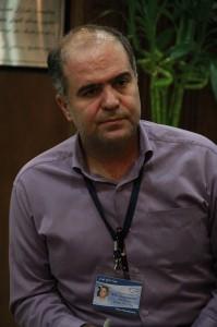 محمدرضا تقی پور ـ مدیر اجرایی موزه صلح ـ عکس از ژاله ستار