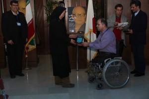 نائومی شیمیزو به همراه محمدرضا تقی پور ـ عکس از ژاله ستار