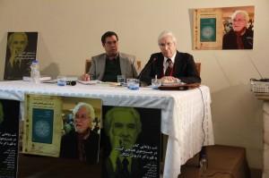 دکتر ایرج پارسی نژاد و علی دهباشی ـ عکس از ژاله ستار