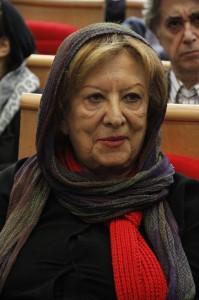پری صابری ـ عکس از ژاله ستار