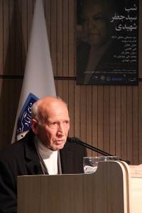 ئکتر غلامرضا ستوده ـ عکس از مجتبی سالک