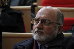 دکتر علی قیصری در شب سید جعفر شهیدی ـ عکس از ژاله مجتبی سالک