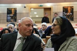 جولیو هاز و کریستینا فیشر ـ عکس از مجتبی سالک