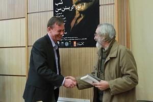 منصور رستگار و کلاوس پدرسن ـ عکس از مجتبی سالک