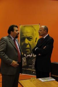 لوکا جانسانتی و دکتر کارلو چرتی ـ عکس از سینا شاه محمدی