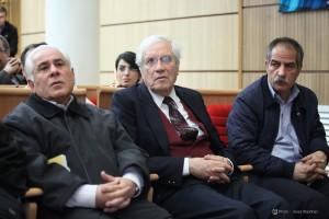 اسدالله امرایی، دکتر ایرج پارسی نژاد و دکتر تورج رهنما ـ عکس از جواد آتشباری