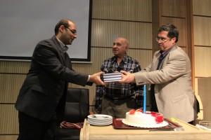علی دهباشی به همراه آقای افسری و جمال میر صادقی ـ عکس از سمیه لطفی
