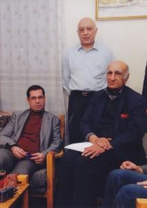 دکتر باستانی پاریزی و حمید فرزندش ـ 17/10/88 عکس از امید طاری فر