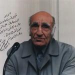 عکسی که دکتر باستانی به یادگار برایم نوشتند و امضا کردند