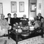 ایرج افشار،باستانی پاریزی، اصغر مهدوی و علی دهباشی