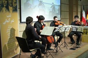 گروه موسیقی کریستین داویت ـ عکس از مجتبی سالک