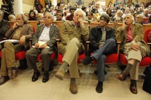 ناصر تقوایی، منوچهر انور و صفدر تقی زاده ـ عکس از ژاله ستار