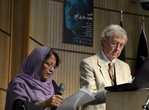 دکتر گونترام کخ و فرزانه قوجلو ـ عکس از متین خاکپور