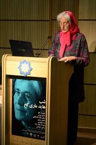 پروفسور هاید ماری کخ ـ عکس از متین خاکپور