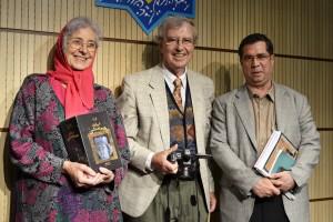علی دهباشی به همراه دکتر گونترام کخ و پروفسور هاید ماری کخ ـ عکس از متین خاکپور