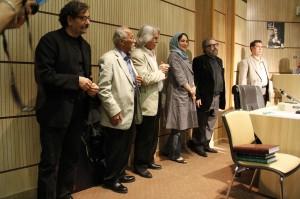 شهرام ناظری، جعفر والی، منوچهر اسماعیلی ، ... و مسعود کیمیایی ـ عکس از ژاله ستار