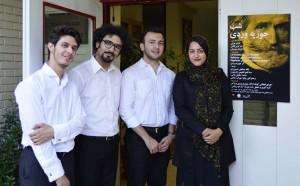 پگاه آهنچی، سینا فتح العلومی، محمد .و جلایی ـ عکس از متین خاکپور