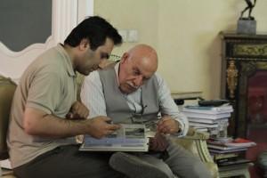 مهرداد شیخان و عبدالرحیم جعفری ـ عکس از سیما مهرآذر