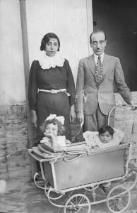 صبا به همراه منتخب خانم و دو دخترش