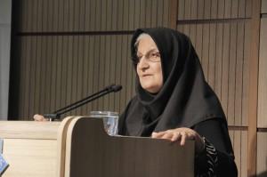 دکتر نوش آفرین انصاری ـ عکس از ژاله ستار