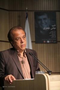 حمید مؤذن جامی ـ عکس از جواد آتشباری