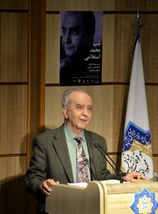 دکتر محمد استعلامی ـ عکس از متین خاکپور