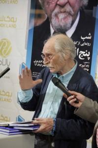 محمود دولت آبادی ـ عکس از ژاله ستار